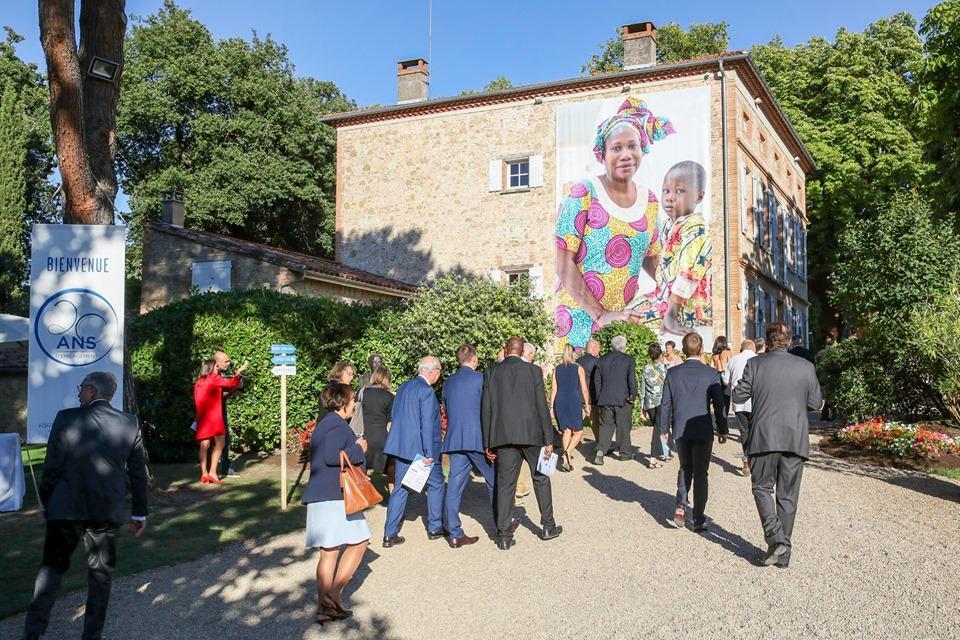 Bâche Fondation Pierre Fabre