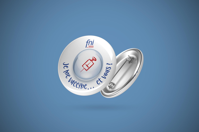 badge vaccination FNI