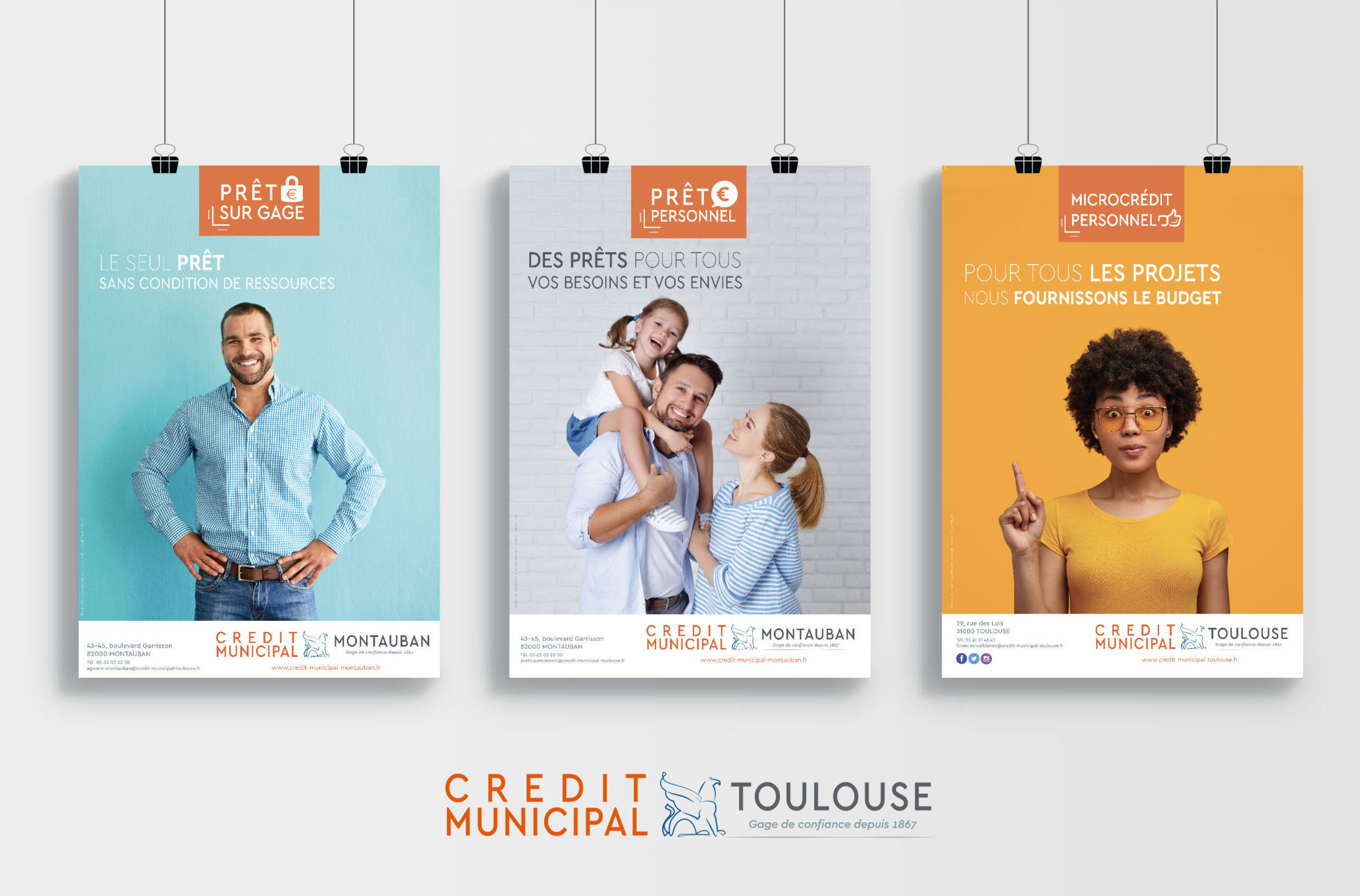 affiches credit municipal de toulouse