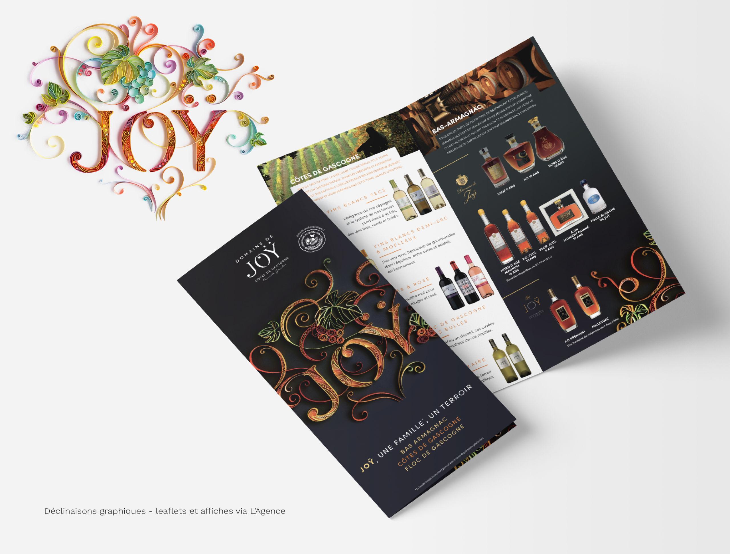 couverture leaflet domaine de joÿ