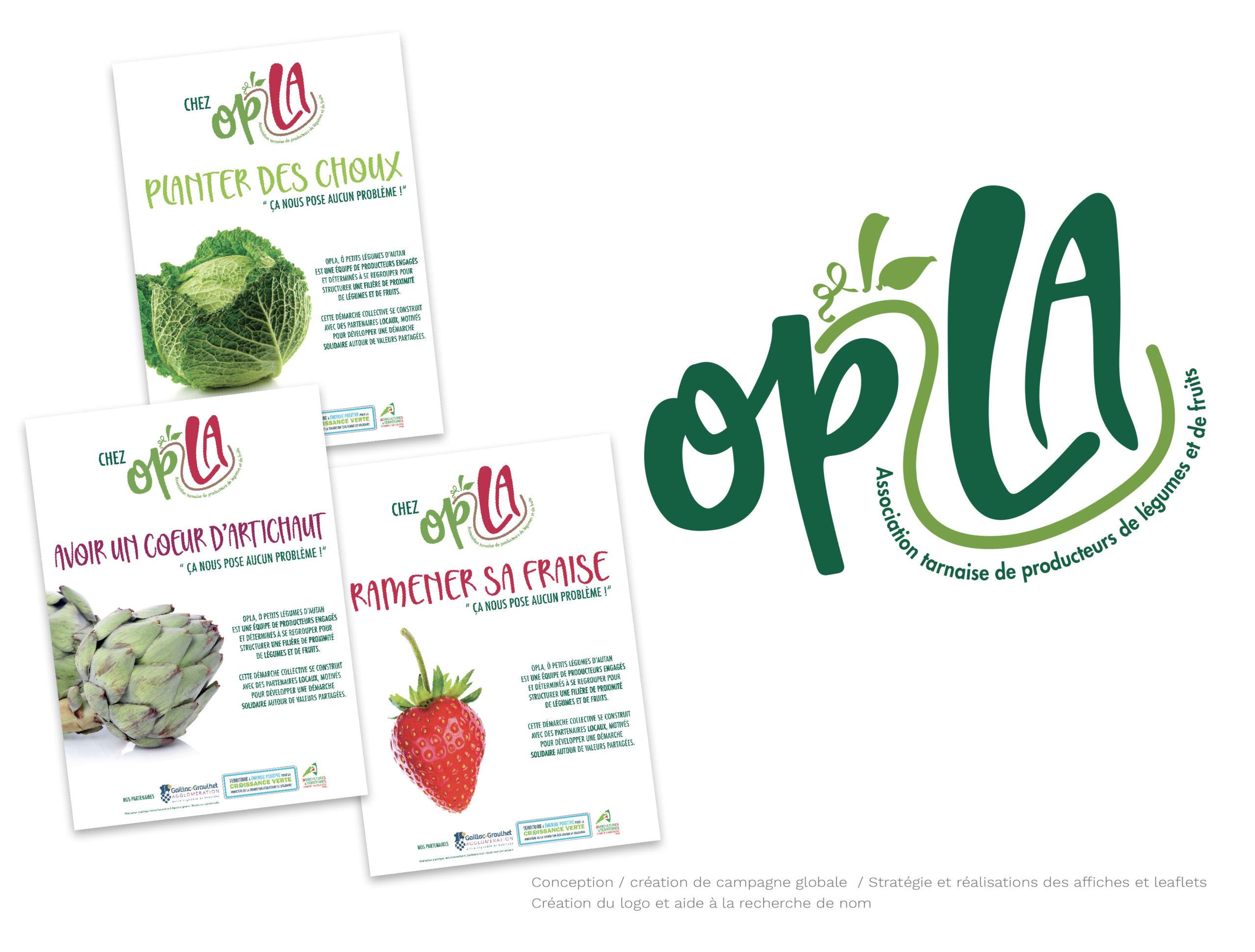 couverture leaflet Opla