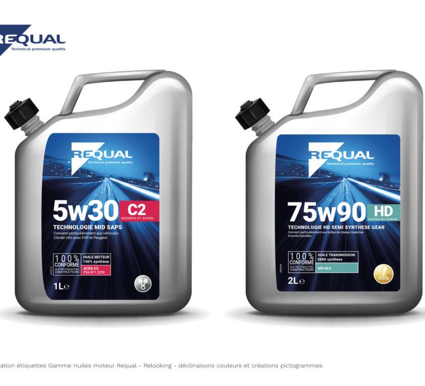 Requal huiles moteur