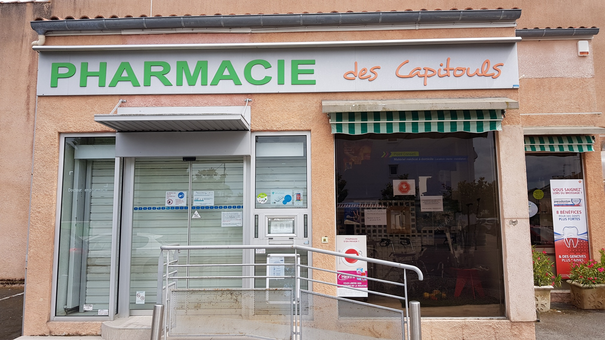 ancienne façade pharmacie Capitouls