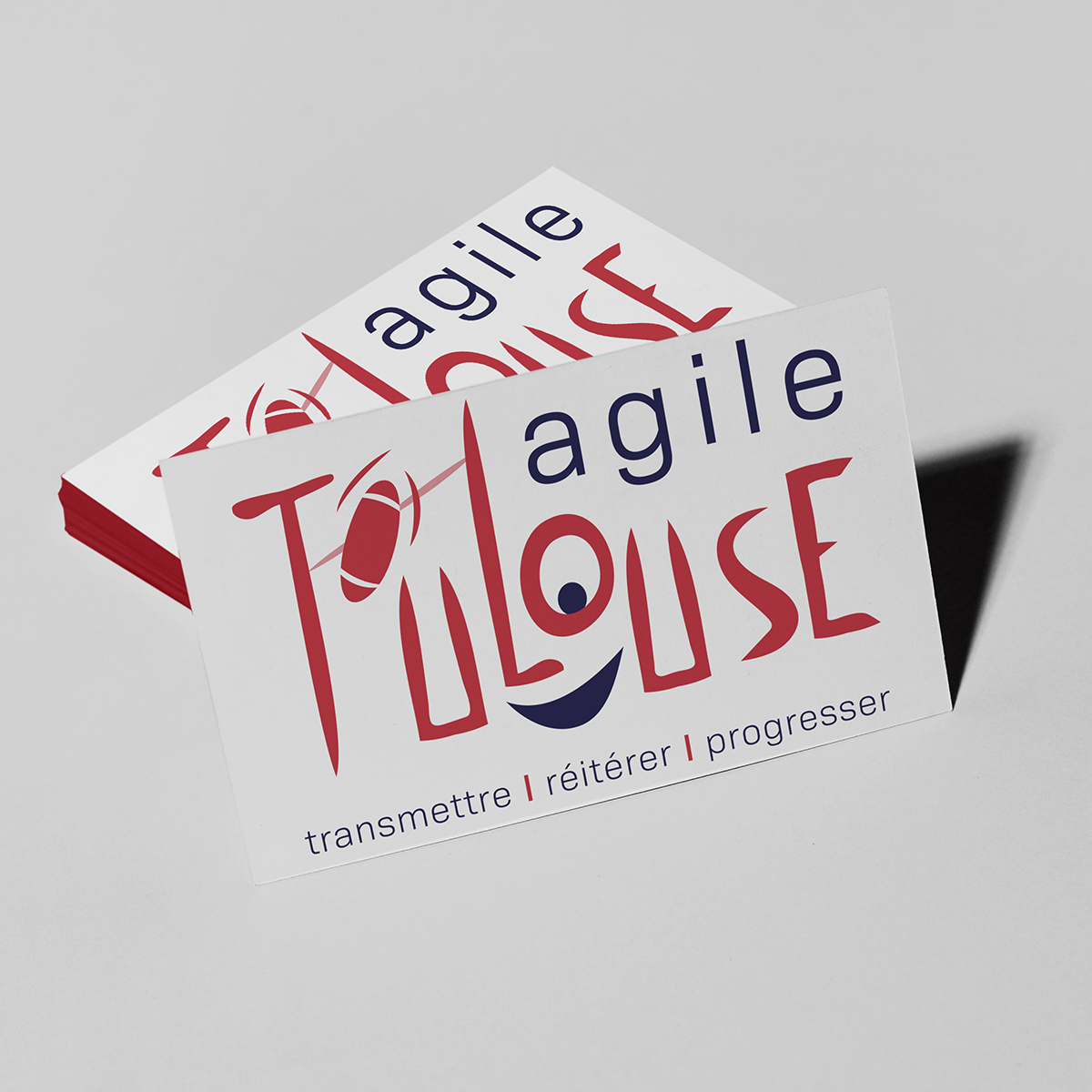 animation logo agile toulouse