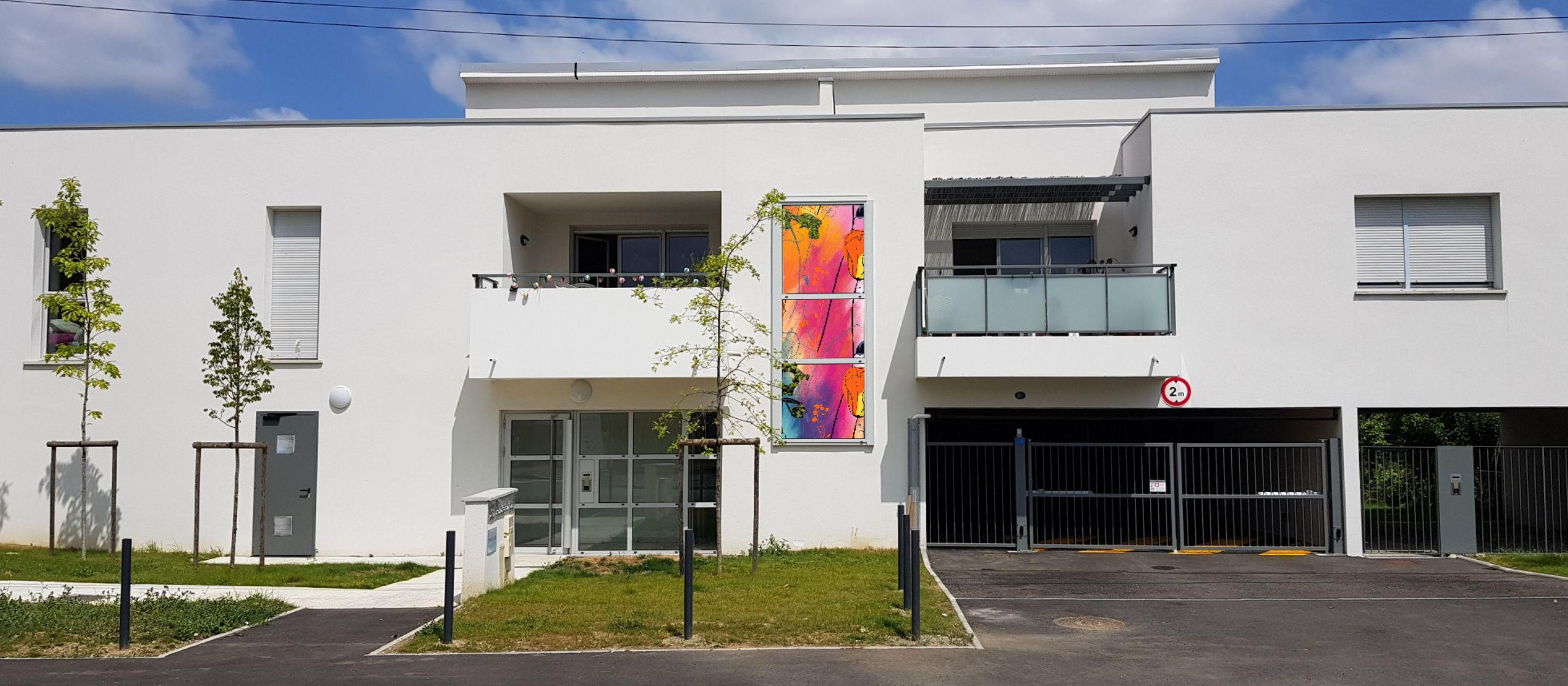 fresque immeuble
