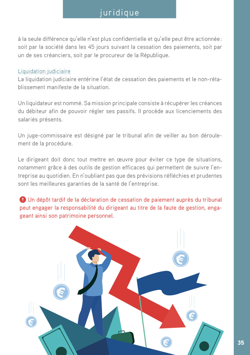 page guide entreprise